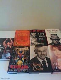 Hard cover novels make a resonable offer Conception Bay South, A1W 4J5