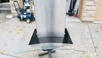 gray and black range hood brand new 544 km