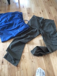 two blue and black pants Boisbriand, J7G 2Z1