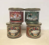 Candles All 4 for $20 Home Decor Fall Winter Kitchen Thanksgiving Christmas Edmonton, T6J 2G2