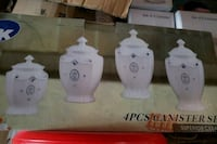 4pcs. Canisters Mississauga, L4T 2A8
