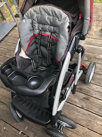 baby's black and gray stroller Henrico, 23075