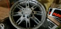 chrome multi-spoke car wheel White Plains, 20695