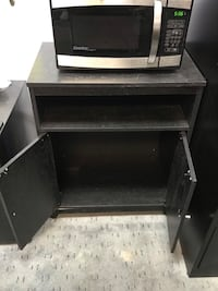Microwave Table and closet