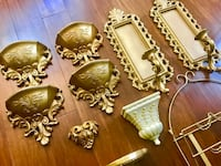 Vintage decor - gold decor Fairfax, 22030