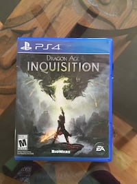 PS4 Shadow of Mordor game case Edgewood, 87015
