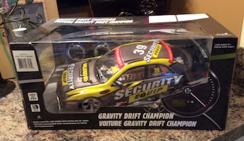 """Yellow & black RC Sports Coupe """" Security Equipment """""""