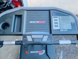 HEALTHRIDER S600 treadmill in excellent works conditions big capacity