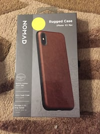 Nomad leather rigged case for iPhone XS max new $50- 60 retail  Hamilton, L8M 2B5
