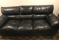Genuine leather sofa and love seat  Montreal, H4M