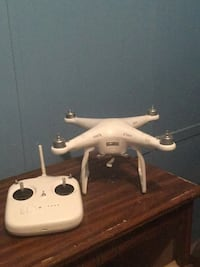white and black quadcopter drone Cleveland, 37323