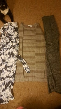 2 stretchy pants & 1 wool sweater Surrey, V3S 0T9