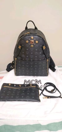 Authentic MCM Dual Stark Backpack