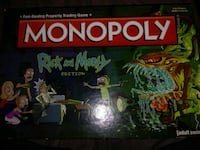 Ricky and Morty Monopoly