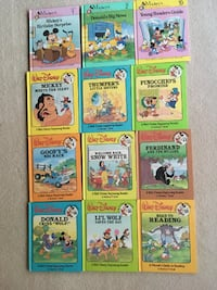 Walt Disney 12-Hard Back books MOUNTPROSPECT