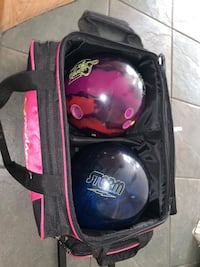Bowling balls and carrier  Las Vegas, 89115