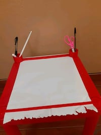 Kids first drawing table