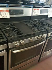 GE stainless gas new stoves Reisterstown, 21136