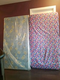 two blue and pink floral textiles Bradford West Gwillimbury, L3Z 2A5