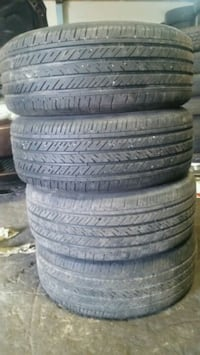 Used set all season tires 225-50-17 Kitchener, N2M 3P3