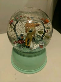 Bambi snow globe sings music has timer  Toronto, M5G 0A6