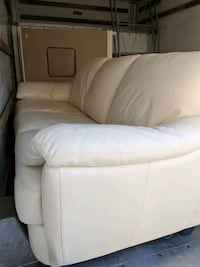 White leather couch Hollister, 95023