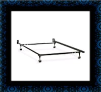 Metal frame rails full twin Queen $40 King $70 Capitol Heights, 20743
