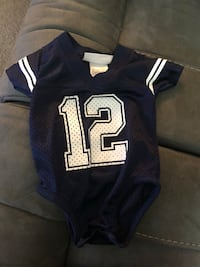 Authentic Dallas Cowboys 0-3 months Jersey  Washington, 20032