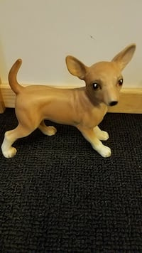 fawn Chihuahua puppy ceramic figurine Middle River, 21220