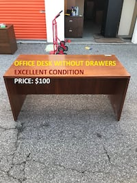 Office Desk without Drawers, Excellent Condition Toronto