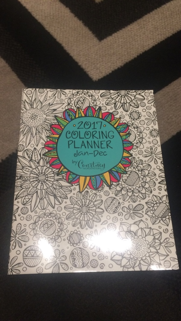used 2017 coloring planner for sale in toronto letgo
