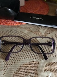 Authentic channel glasses frame with cloth and case