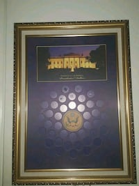 Coin collecting frame Springfield, 22152