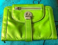 green and brown leather bag Barrie, L4N 5G8