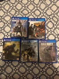 Ps4 games price negotiable Kitchener, N2E 0A4