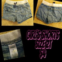 two blue and gray denim short shorts Memphis, 38134