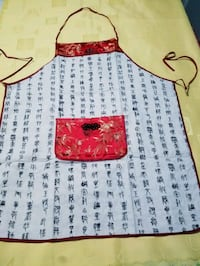 Chinese apron with 1 pocket Chicago, 60625