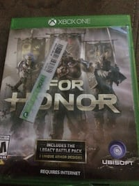 Xbox One For Honor game case