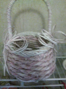brown rope basket
