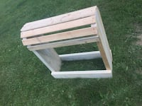 Wooden horse saddle stand painted your colour of choice St. Albert