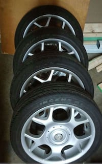 Rims with new tires for sale