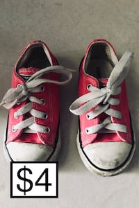 USED • CONVERSE • CHUCK TAYLOR ORIGINAL • GIRL TODDLERS SNEAKERS Fontana, 92335