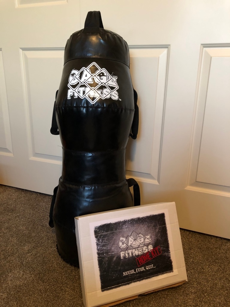 Photo CAGE Fitness Home Training Kit, plus Heavy Bag