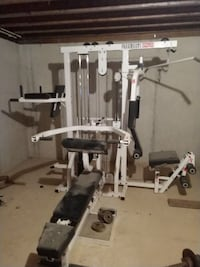 white and black Paramount gym equipment Levels, 26763