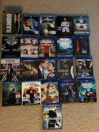 $3 blu Ray movies for sale....sets are $10 Woodbridge, 22193