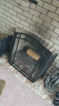 Fire place cover and log holder  Vancouver, V5N 1G3