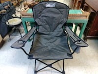 Black and Green Coleman Camping Chair for Sale. Norfolk, 23503