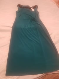 teal sleeveless maxi dress Edmonton, T5J 0T6