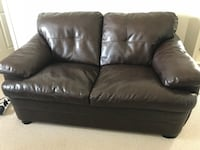 2 Leather couch for $250 Calgary, T2Y 0G2