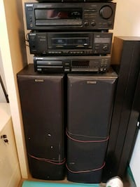 Old vintage speakers/stereo system